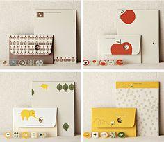 simplesong: shinzi katoh letter sets