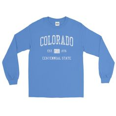Vintage Colorado CO Adult Long Sleeve T-Shirt (Unisex)