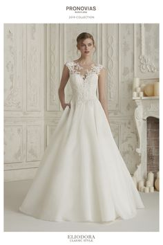 bc99edc7a51d Elis by Pronovias 2019 Collection lace Wedding Dress Bridal Gown Aline  Bournemouth Dorset