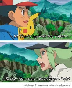 """This is a reference to Yu-Gi-Oh when Kiaba said """"screw the rules I have money."""""""