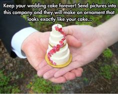 FunniestMemes.com - Funny Memes - [Keep Your Wedding Cake Forever...]