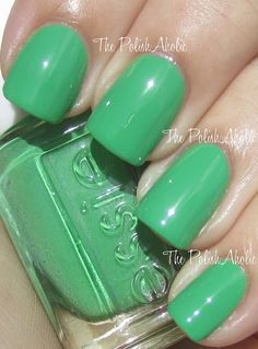 "Essie ""Mojito Madness"". I have this polish. I love it. And I loooove Essie. Call me a bit obsessed (:"