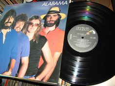 Alabama - The Closer You Get CANADA 1983 Lp near mint w/Inner