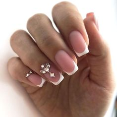 Extraordinary And Super Trendy Gel Nails Designs - Unforgettable French Manicure ❤️ Classy gel nails designs, cute gel nails designs and a lot m - Nail Art Designs, French Manicure Designs, Pedicure Designs, French Pedicure, Nails Design, Classy Gel Nails, Cute Gel Nails, My Nails, French Manicure Acrylic Nails