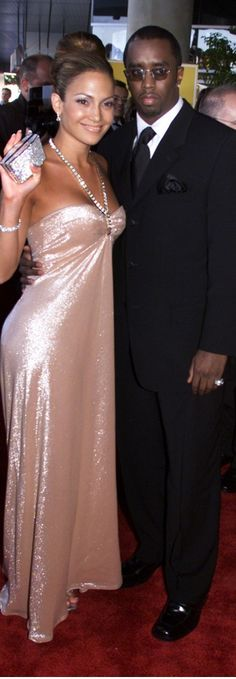 Sean Diddy Combs and J Lo