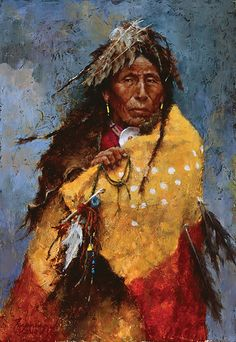 Howard Terpning | Howard Terpning - The Power of the Medicine Robe