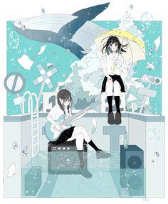 Pretty Art, Cute Art, Desu Desu, Character Art, Character Design, Cute Pastel Wallpaper, Japon Illustration, Image Manga, Anime Poses