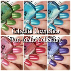 Celestial Cosmetics Pun-tastic Collection | Cosmetic Sanctuary