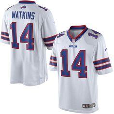 Sammy Watkins Buffalo Bills Nike Limited Jersey - White 8df3ac821