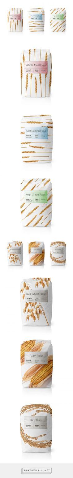Flour Packaging by MAISON D'IDÉE