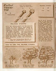 Tech Tip - Foliage Stamping
