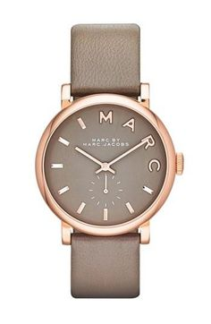 A nice watch like this marc by marc jacobs. i like how its plain but still nice.