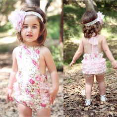 Baby Kids Girls Toddlers Lace Flower