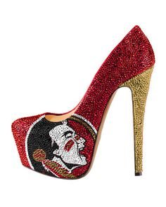 2014-15 Limited Edition Florida State Seminoles Crystal Pumps