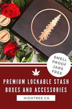 Lockable Smell Proof Stash Boxes