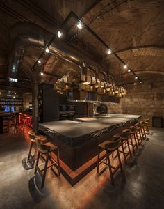 IVANKA customized countertop for Casa Pomo D'oro Restaurant, Budapest.