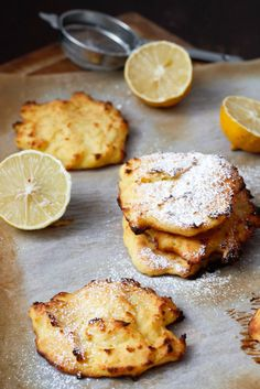 LEMON RICOTTA PANCAKES (GLUTEN-FREE, BAKED), OR THE ORIGINAL LATKE