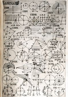 pique-nique — speciesbarocus: Juan Caramuel y Lobkowitz -. Geometry Art, Sacred Geometry, Doodle Drawing, Golden Ratio, Technical Drawing, Occult, Mathematics, Zentangle, Sketches