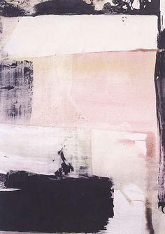 Pink grey and white canvas