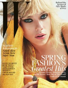 Scarlett Johansson by Mert Alas & Marcus Piggott for W Magazine March 2015