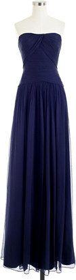 J.Crew Ava long dress in silk chiffon - Find it on Donde Fashion