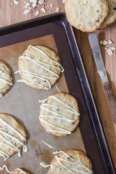 Blueberry Almond Sugar Cookies