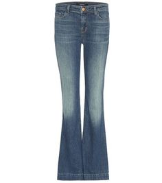 J Brand Another Lovestory Flared Jeans For Spring-Summer 2017 Denim Shop, J Brand Jeans, Fashion Branding, Designer Collection, Flare Jeans, Bell Bottom Jeans, Polyvore Fashion, Model, Cotton