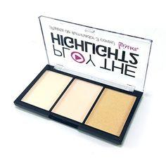 Paleta de Iluminador 3 Cores Play The Highlight2 Luisance L3008