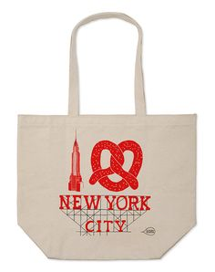 Claudia Pearson: New York City Everyday Tote City Logo, Drip Dry, Big Bags, Market Bag, Large Tote, Things To Buy, New York City, Reusable Tote Bags, Product Launch