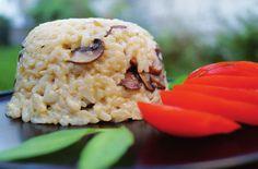 Risotto aux champignons, recette - Vegan Pratique