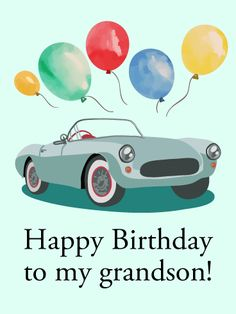 Happy Birthday Wishes Card for Grandson to Loved Ones on Birthday & Greeting Cards by Davia. It's free, and you also can use your own customized birthday calendar and birthday reminders. Unique Birthday Cards, Happy Birthday Celebration, Birthday Greeting Cards, Happy Birthday Cards, Birthday Greetings, Happy Birthday Grandson Images, Grandson Birthday Wishes, Happy Birthday Pictures, Birthday Elf