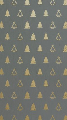 Gold foil Christmas tree pattern | free iPhone 6 backgrounds