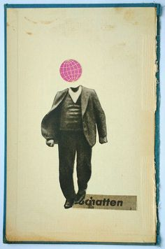 Paper Collage by F. Mädebach, Hannover.