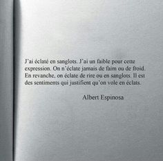 Espinosa citation Book Quotes, Words Quotes, Wise Words, Life Quotes, Phrases, Citation Sentiment, Motivational Quotes, Inspirational Quotes, Oui