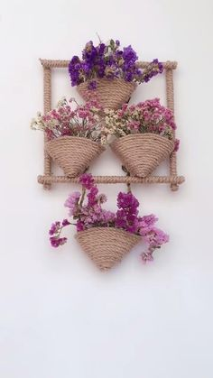 Diy Crafts For Home Decor, Diy Crafts For Gifts, Diy Arts And Crafts, Creative Crafts, Paper Flowers Craft, Paper Crafts Origami, Flower Crafts, Jute Crafts, Diy Wall Art