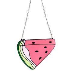 4.92$  Buy here - http://ali3g4.shopchina.info/go.php?t=32790211889 - Women Bag Banana Watermelon Shaped Clutch Bag Fruit Evening Day Clutch Chain Messenger Purses Handbags Party Bags   LT88 4.92$ #SHOPPING
