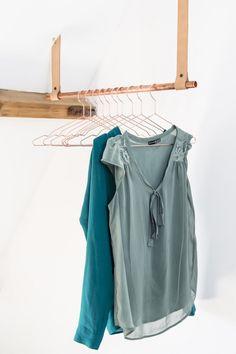 DIY clothes rail   Make-over door Kim van Rossenberg   Aflevering 7 van vtwonen doe-het-zelf