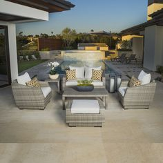 6-Piece Gabriella Sunbrella Seating Group | Joss & Main