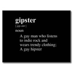 GIPSTER DEFINITION.