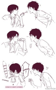 Levi can be really mean ;-; still love the two of them though