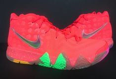 9393dd4ed1e4 BRAND NEW Kyrie 4 Cereal Pack Lucky Charms Bright Crimson Multi-Color BV0428 -600
