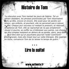 Découvrez le premier extrait d'Histoire de Tom!