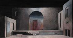 Richard Peduzzi - Richard Peduzzi --- #Theaterkompass #Theater #Theatre #Schauspiel #Tanztheater #Ballett #Oper #Musiktheater #Bühnenbau #Bühnenbild #Scénographie #Bühne #Stage #Set