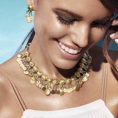 azza fahmy gold kirdan necklace, Azza Fahmy Jewelry http://www.justtrendygirls.com/azza-fahmy-jewelry/