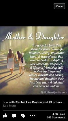 Love this,,, mother/daughters