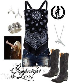 I'd wear this, minus the bracelet, earrings and necklace
