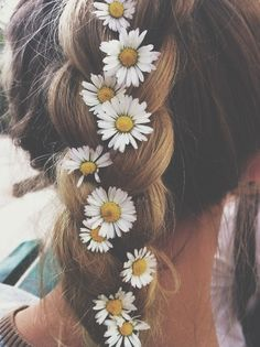 String some flowers through your braids!