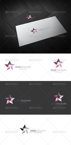 StarTriumph - Logo Design Template Vector #logotype Download it here: http://graphicriver.net/item/startriumph-logo/2827781?s_rank=661?ref=nesto