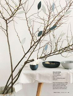Sweet Paul Magazine, Branch Decor
