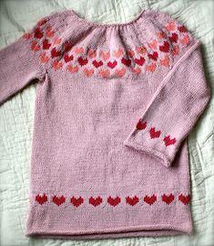 "Strikkedoktor'n: ""Hjertegenser"" Knit Crochet, Knitting, Sweaters, Fashion, Projects, Moda, Tricot, Cast On Knitting, Sweater"